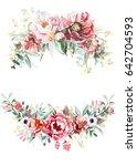 flower bouquets | Shutterstock . vector #642704593