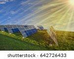 solar energy concept image   Shutterstock . vector #642726433