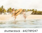 Two Beautiful Happy Surfing...