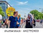washington  dc  usa   april 29  ... | Shutterstock . vector #642792403