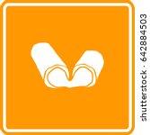 deep fried breaded mozzarella...   Shutterstock .eps vector #642884503