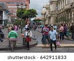 san jose  costa rica   march 23 ...   Shutterstock . vector #642911833