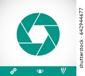 camera icon  vector best flat... | Shutterstock .eps vector #642944677