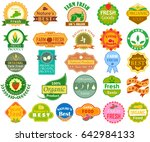 vector illustration of farm... | Shutterstock .eps vector #642984133