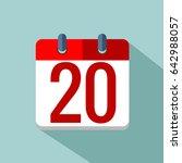20 number vector eps 10 | Shutterstock .eps vector #642988057