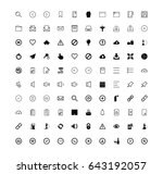 general icons | Shutterstock .eps vector #643192057