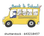 Back To School Concept With...