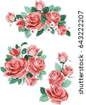 Set Collection Flowers Roses ...