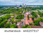view of old salem and downtown... | Shutterstock . vector #643257517