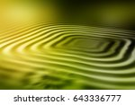 colorful ripple background | Shutterstock . vector #643336777