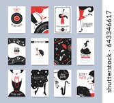 Retro Party Invitation Cards I...