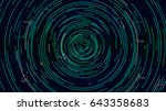 analytical spiral of... | Shutterstock .eps vector #643358683