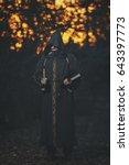 Small photo of Man monk, Warlock