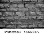 wall bricks  | Shutterstock . vector #643398577