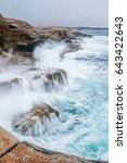 Beautiful Rocky Coastline With...