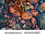 red rocks in the sea | Shutterstock . vector #643424587