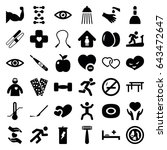 health icons set. set of 36...