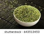arabic cuisine  famous aromatic ... | Shutterstock . vector #643513453