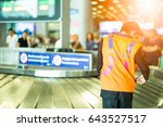 Lost And Found Staff In Airport