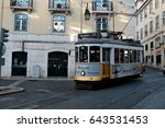 lisbon  portugal   may 3  2017  ... | Shutterstock . vector #643531453
