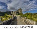 Famous Eilean Donan Castle ...