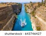 Ship Passing Through Corinth...