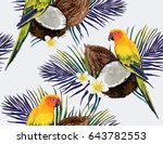 beautiful vector hand drawn... | Shutterstock .eps vector #643782553
