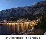 view of makarska city  famous... | Shutterstock . vector #64378816