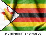 zimbabwe flag   Shutterstock . vector #643903603