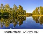 Evening View Of Lake Haukivesi...