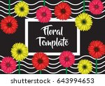 horizontal banner  card  label  ...   Shutterstock .eps vector #643994653