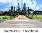 coffs harbour city street view... | Shutterstock . vector #643998463