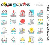 color box icons  protection...