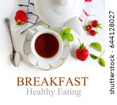 Healthy Breakfast With Text...