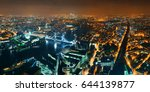 london aerial view panorama at... | Shutterstock . vector #644139877