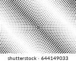 abstract halftone dotted...   Shutterstock .eps vector #644149033