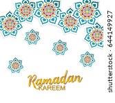 ramadan background | Shutterstock .eps vector #644149927