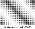 abstract halftone dotted...   Shutterstock .eps vector #644168023