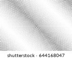 abstract halftone dotted...   Shutterstock .eps vector #644168047