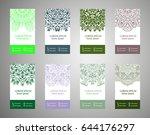 flyer  cover  pattern mandala.... | Shutterstock .eps vector #644176297