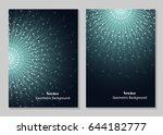 modern vector templates for... | Shutterstock .eps vector #644182777