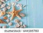 Sea Vacation Background On Blu...