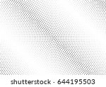 abstract halftone dotted...   Shutterstock .eps vector #644195503