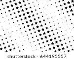 abstract halftone dotted... | Shutterstock .eps vector #644195557