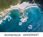 aerial view of the amazing... | Shutterstock . vector #644205457