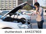 young asian man using... | Shutterstock . vector #644237803