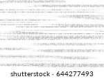 vector matrix background.... | Shutterstock .eps vector #644277493