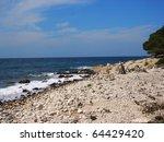 journey to the sea in croatia ... | Shutterstock . vector #64429420