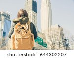 image of a young traveller just ...   Shutterstock . vector #644302207