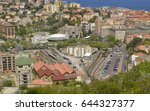 view on bastia railway station... | Shutterstock . vector #644327377